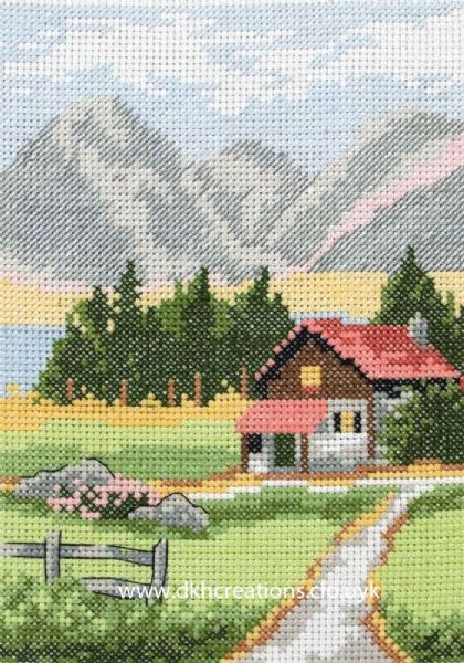Alpine Lodge Cross Stitch Kit